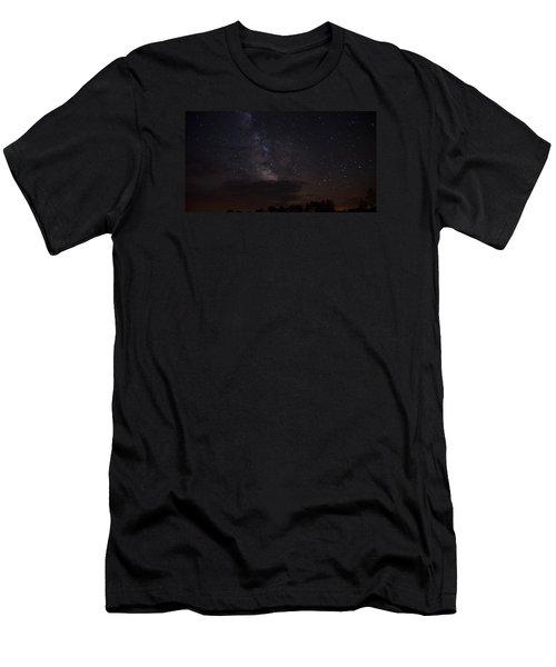 Milky Way Men's T-Shirt (Slim Fit) by Gary Wightman