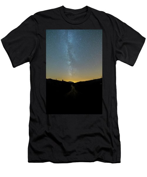 Milky Way Geres 1 Men's T-Shirt (Athletic Fit)