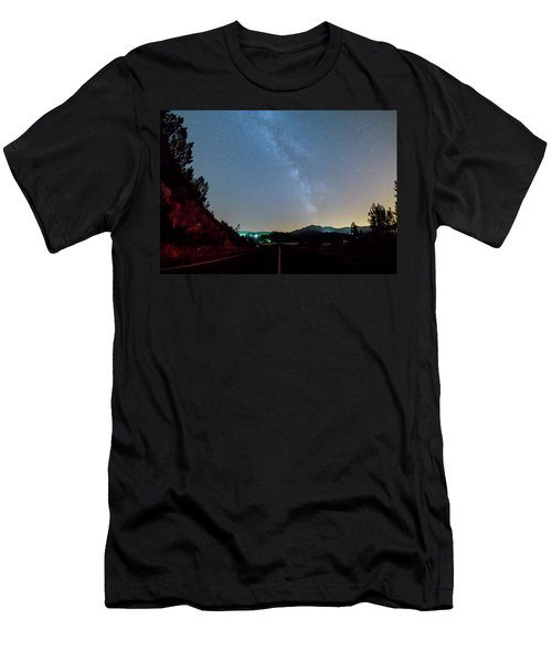 Milky Way Geres 2 Men's T-Shirt (Athletic Fit)
