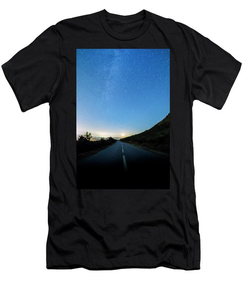Milky Way Geres 4 Men's T-Shirt (Athletic Fit)