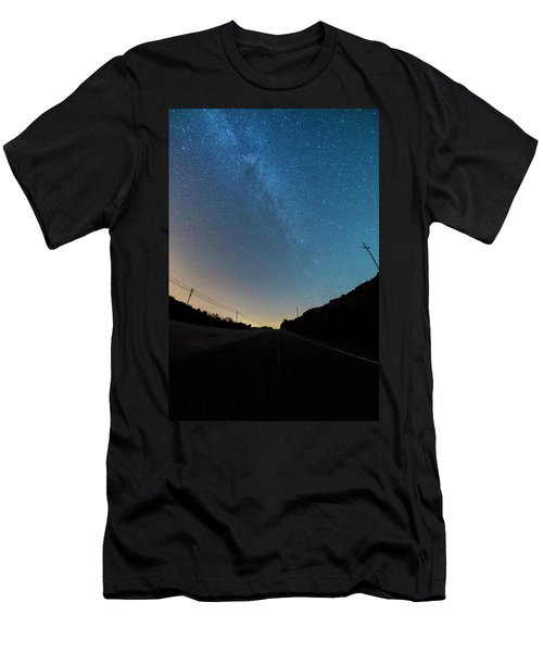 Milky Way Geres 5 Men's T-Shirt (Athletic Fit)