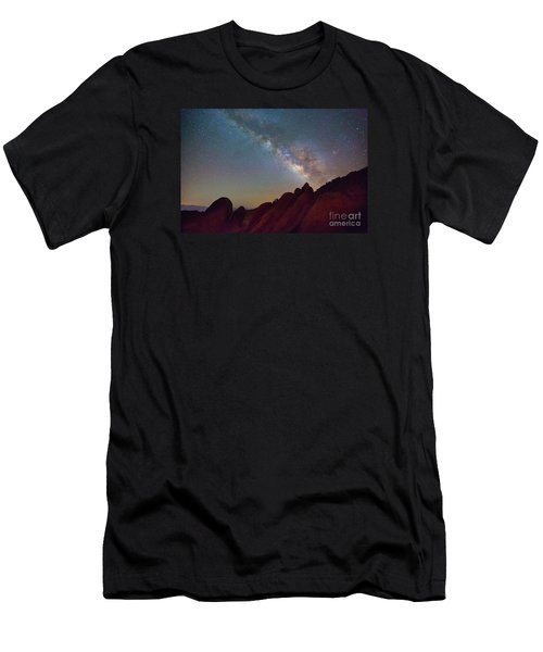 Milky Way In The Alabama Hills Men's T-Shirt (Athletic Fit)