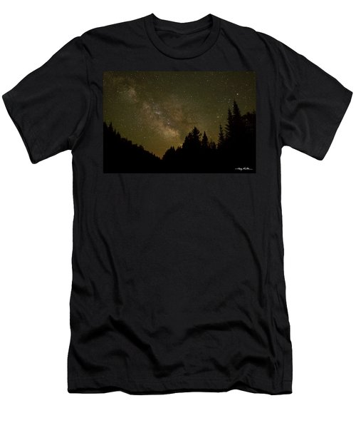 Milky Way In The Whites Men's T-Shirt (Athletic Fit)