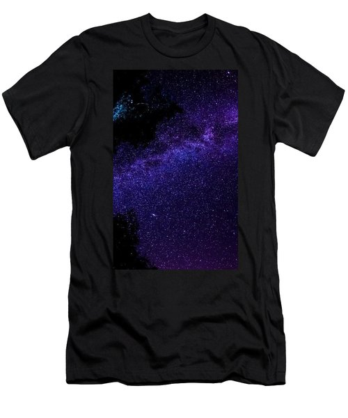 Milky Way Stars Night Sky Space 97654 300x480 Men's T-Shirt (Athletic Fit)