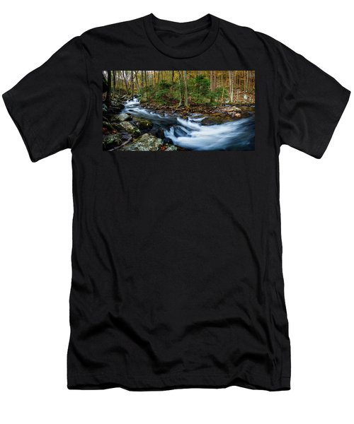 Mill Creek In Fall #2 Men's T-Shirt (Athletic Fit)