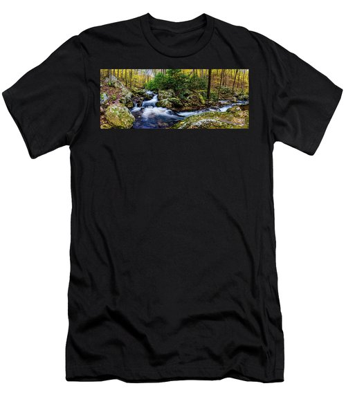 Mill Creek In Fall #4 Men's T-Shirt (Athletic Fit)