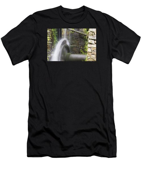 Mill Wheel Men's T-Shirt (Athletic Fit)