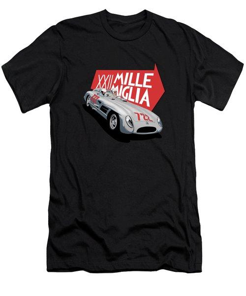 Mille Miglia Xxii 1955 Men's T-Shirt (Athletic Fit)