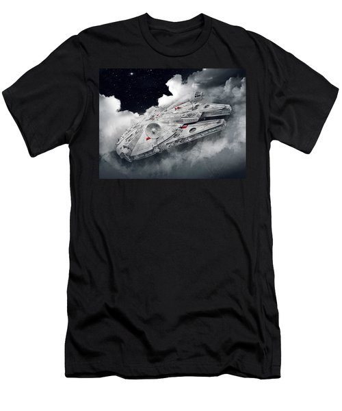 Millennium Falcon Men's T-Shirt (Athletic Fit)