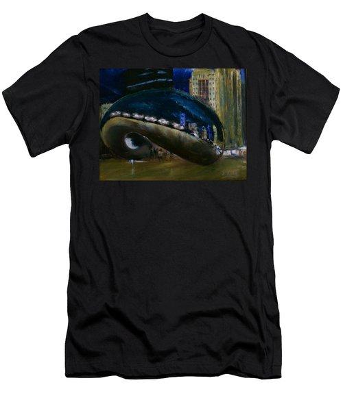 Millennium Park - Chicago Men's T-Shirt (Athletic Fit)