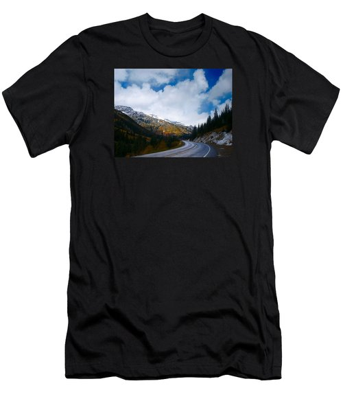 Men's T-Shirt (Slim Fit) featuring the photograph Million Dollar Highway by Laura Ragland