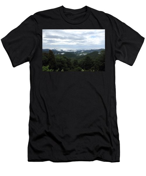 Mills River Valley View Men's T-Shirt (Athletic Fit)