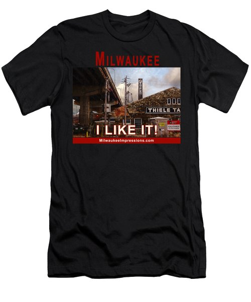 Milwaukee - I Like It - Thiele Tanning Men's T-Shirt (Athletic Fit)