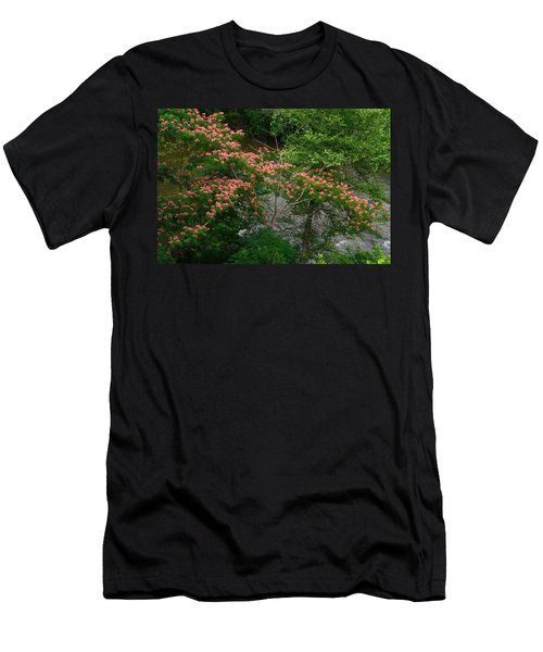 Mimosa On The Dan River Men's T-Shirt (Slim Fit) by Kathryn Meyer