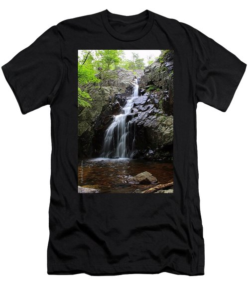 Mina Suak Falls, Mo. Men's T-Shirt (Athletic Fit)