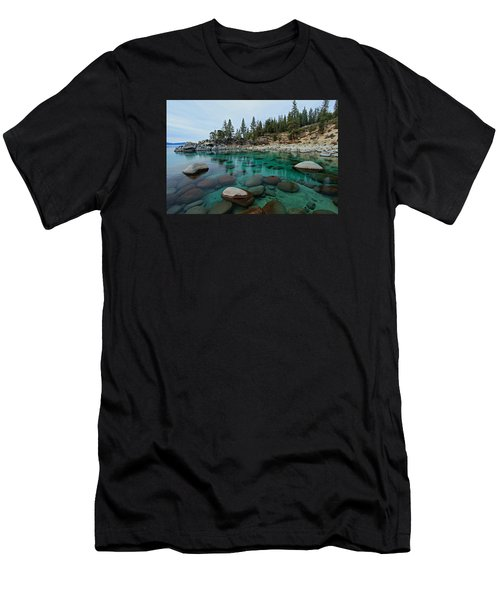 Men's T-Shirt (Athletic Fit) featuring the photograph Mind Blowing Clarity by Sean Sarsfield
