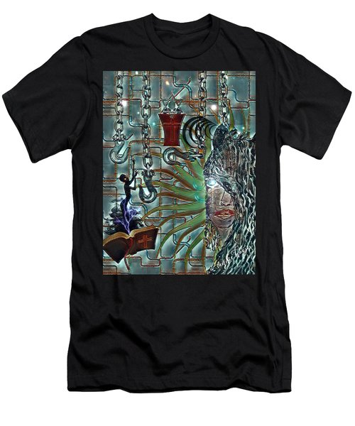 Mind Genocide Men's T-Shirt (Athletic Fit)