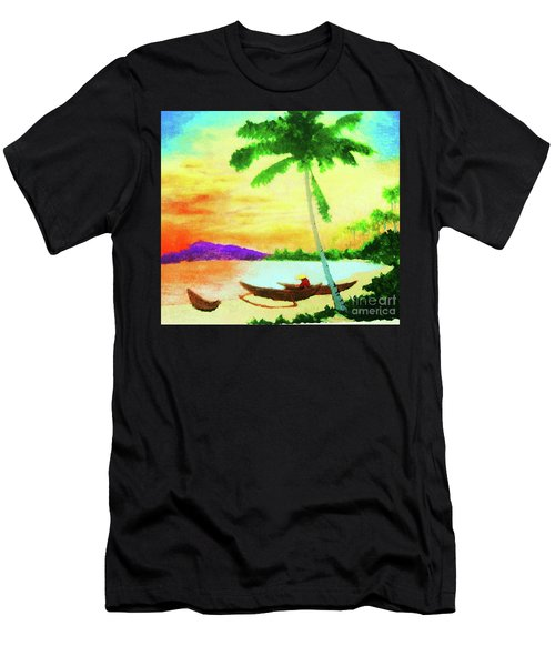 Mindanao Sunset Men's T-Shirt (Athletic Fit)