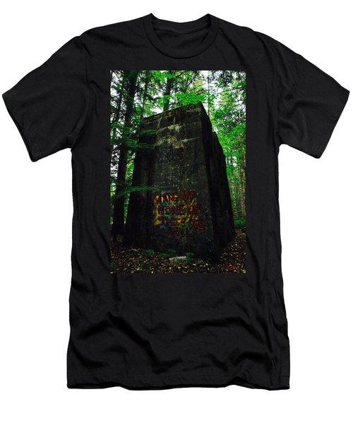 Mine 8 Matrix Men's T-Shirt (Athletic Fit)