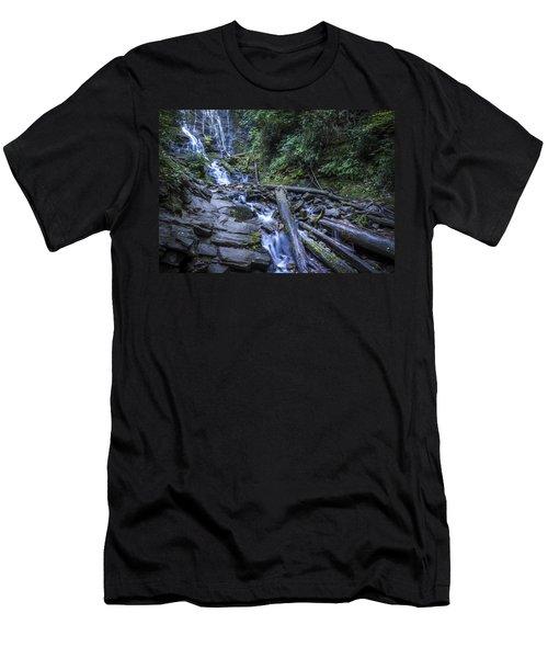 Mingo Falls One Men's T-Shirt (Athletic Fit)