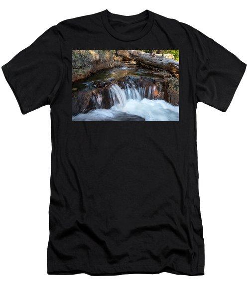 Mini-fall At Eagle Falls Men's T-Shirt (Athletic Fit)