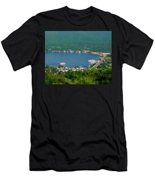 Mini-ha-ha Men's T-Shirt (Athletic Fit)