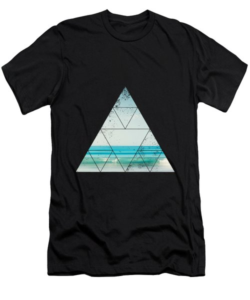 Minimal Wave Men's T-Shirt (Athletic Fit)