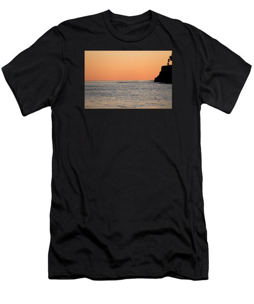 Minimalist Sunset Men's T-Shirt (Athletic Fit)