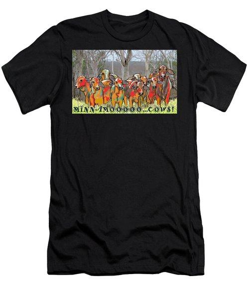 Minnamooooo...cows Men's T-Shirt (Athletic Fit)