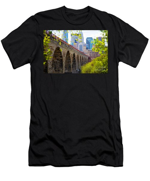 Minneapolis Stone Arch Bridge Photography Seminar Men's T-Shirt (Athletic Fit)
