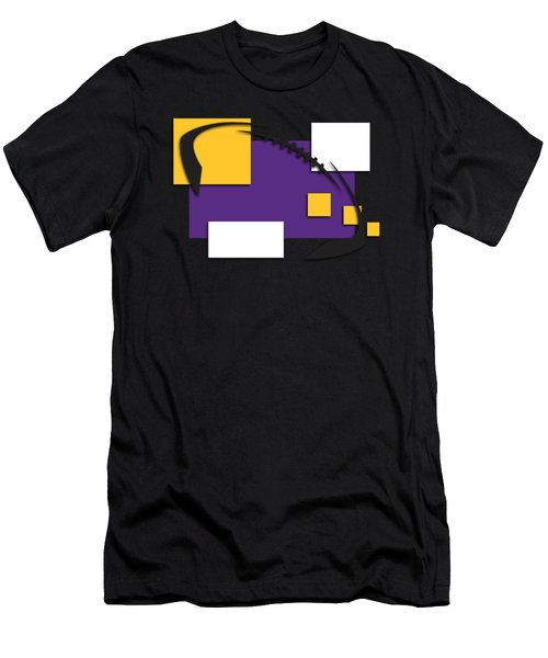 Minnesota Vikings Abstract Shirt Men's T-Shirt (Athletic Fit)