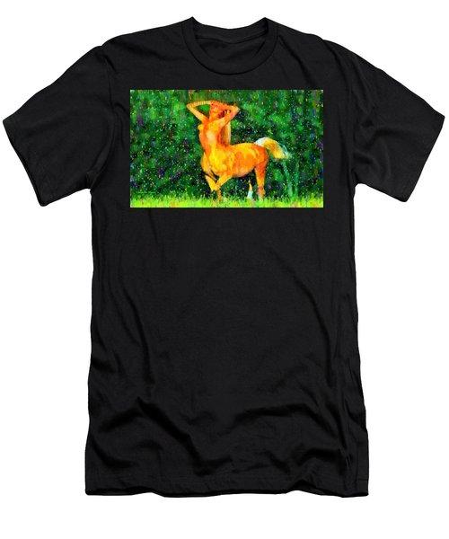 Minogirl - Da Men's T-Shirt (Athletic Fit)
