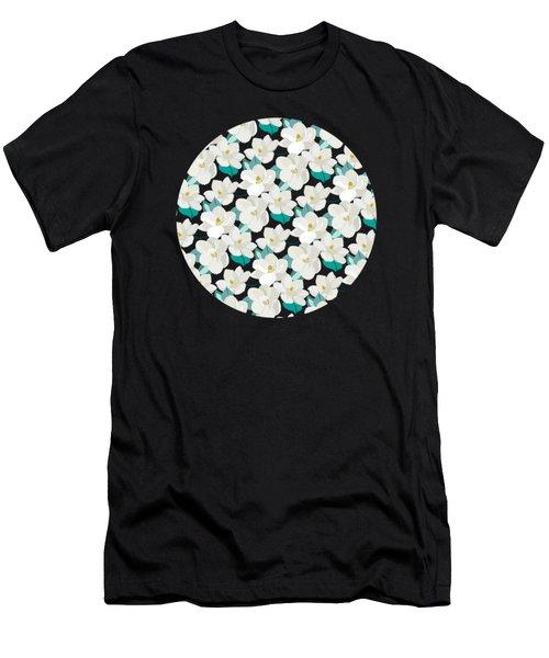 Mint Magnolias Men's T-Shirt (Athletic Fit)