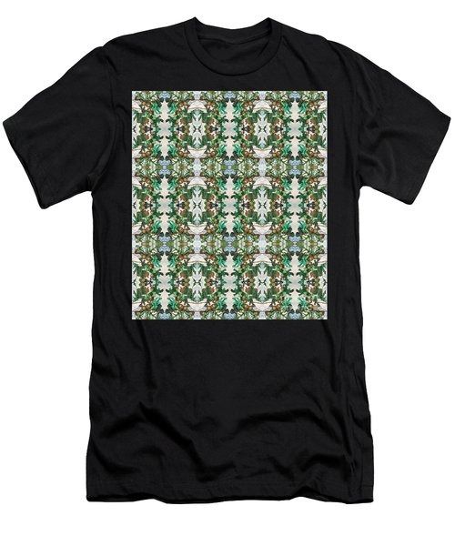 Mirror Image Of Acorns On An Oak Tree Men's T-Shirt (Athletic Fit)