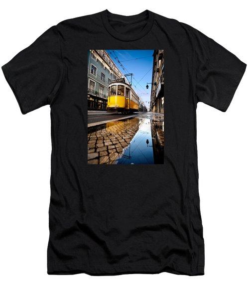 Mirror Men's T-Shirt (Slim Fit) by Jorge Maia