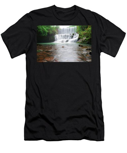 Mirror Lake Falls 2 Men's T-Shirt (Athletic Fit)