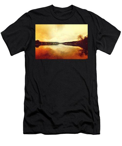 Mirror Lake At Sunset Men's T-Shirt (Athletic Fit)
