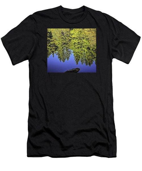 Mirror Mirror-2 Men's T-Shirt (Athletic Fit)