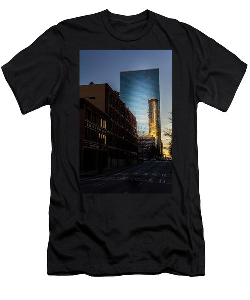 Mirror Reflection Of Peachtree Plaza Men's T-Shirt (Athletic Fit)