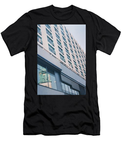 Mirrored Berlin Men's T-Shirt (Athletic Fit)
