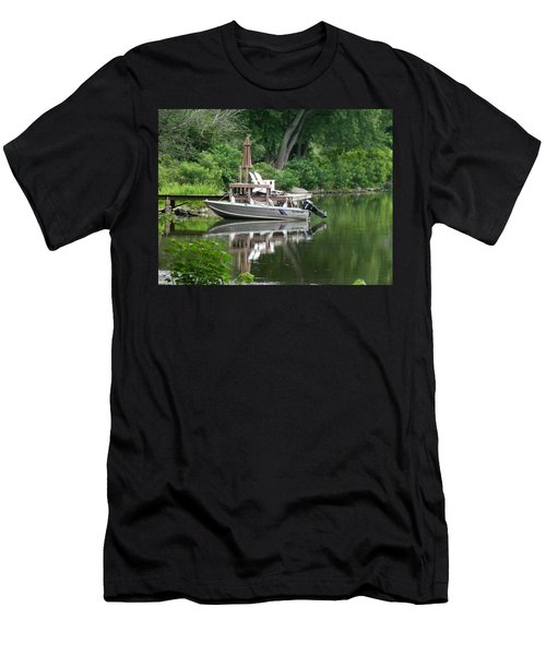 Mirrored Journey Men's T-Shirt (Athletic Fit)