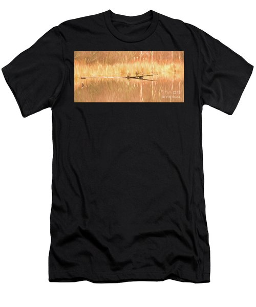 Mirrored Reflection Men's T-Shirt (Athletic Fit)