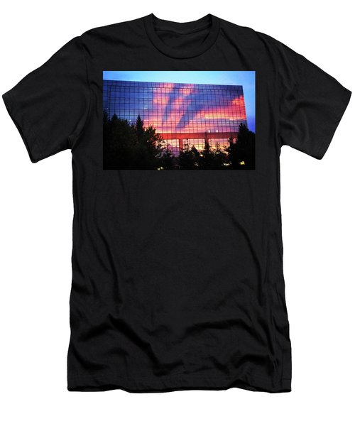 Mirrored Sky Men's T-Shirt (Athletic Fit)