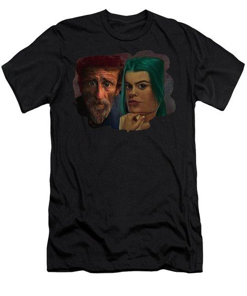 Mismatched Men's T-Shirt (Athletic Fit)