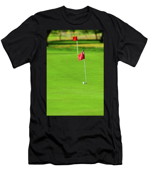 Men's T-Shirt (Athletic Fit) featuring the photograph Missing The Mark by SR Green