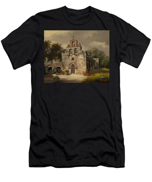 Mission Espada Men's T-Shirt (Slim Fit) by Kyle Wood
