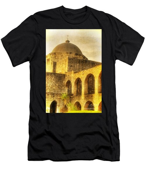 Mission San Jose San Antonio Texas Men's T-Shirt (Athletic Fit)