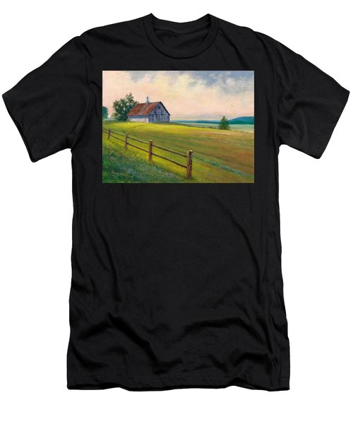 Missouri Barn Men's T-Shirt (Athletic Fit)