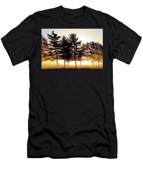 Missouri Tree Line Men's T-Shirt (Slim Fit) by Christopher McKenzie
