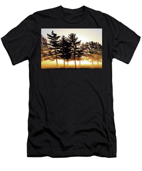 Missouri Tree Line Men's T-Shirt (Athletic Fit)